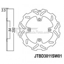 Disco de freno JT Braking 3011SW01