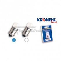 2 bombillas Krawehl Led Blanco BA9S 12V 4W