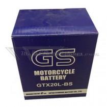 Batería GS tipo: GTX20L-BS
