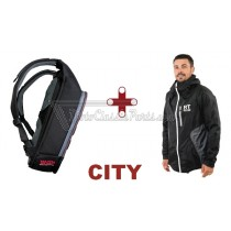 MOCHILA + CHAQUETA IMPERMEABLE RESTLESS TRAVELLERS CITY