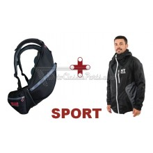 MOCHILA + CHAQUETA IMPERMEABLE RESTLESS TRAVELLERS SPORT