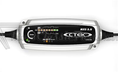 Cargador para Motocicleta CTEK MXS 5.0