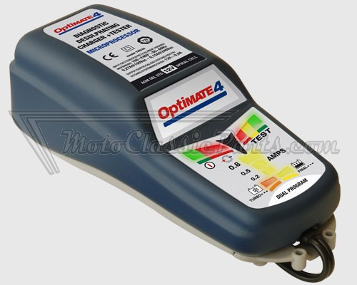 Cargador OPTIMATE 4 VDE. 12 V. DUAL PROGRAM CAN-bus ACCUMATE