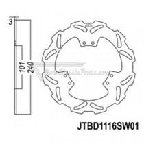 Disco de freno JT Braking 1116SW01