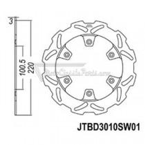 Disco de freno JT Braking 3010SW01