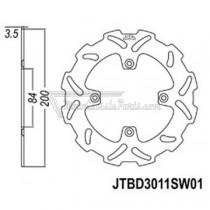 Disco de freno JT Braking 3011SW01