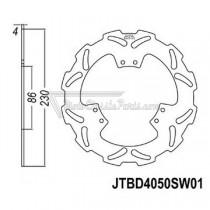 Disco de freno JT Braking 4050SW01