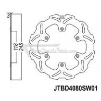 Disco de freno JT Braking 4080SW01