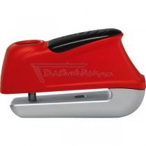 Candado de disco 345 Trigger Alarm Rojo