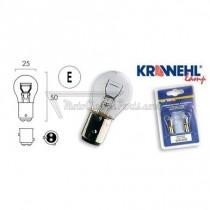 2 bombillas Krawehl BAZ15D 12V 21/5W