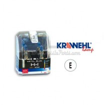 2 lámparas METAL BLUE H1 12V 55W