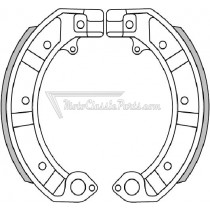 BRAKE SHOES / ZAPATAS DE FRENO BRENTA FT0128