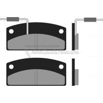 BRAKE PAD / PASTILLAS DE FRENO (X2) BRENTA FT3038