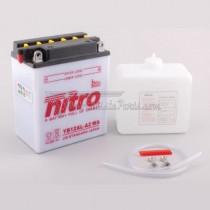 Batería NITRO tipo: YB12AL-A2 (CB12AL-A2, DB12AL-A2)