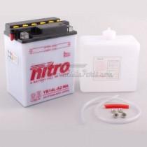 Batería NITRO tipo: YB14L-A2 (CB14L-A2, DB14L-A2)