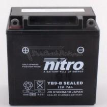 Batería NITRO tipo: YB9-B (CB9-B, DB9-B)