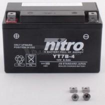 Batería NITRO tipo: YT7B-4 (DT7B-4, GT7B-4, CT7B-4)