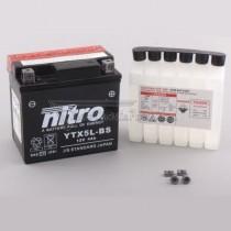 Batería NITRO tipo: YTX5L-BS (GTX5L-BS, CTX5L-BS)