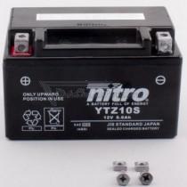 Batería NITRO tipo: YTZ10S (GTZ10-S, CTZ10-S, DTZ10-S, YTZ10-S)