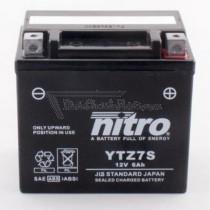 Batería NITRO tipo: YTZ7S (CTZ7S, GTZ7S, DTZ7S)
