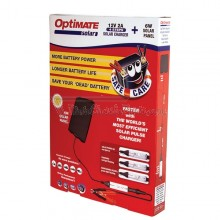 Cargador OptiMATE SOLAR + placa solar de 6 W